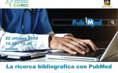 Corso Coris: La ricerca bibliografica con PubMed – Avanzato