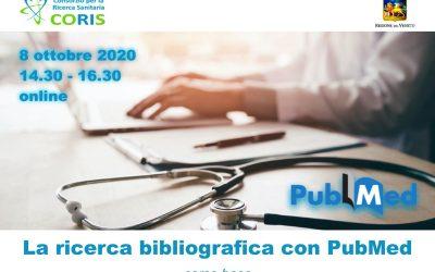 Corso Coris: La ricerca bibliografica con PubMed – Base